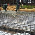 Строительство монолитной плиты фундамента