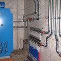 Монтаж котельной с напольным газовым котлом или электрическим; контур радиаторы, теплые полы, бойлер; обвязка нержавеющими трубами.