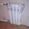 Монтаж радиатора