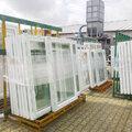 Изготовление стеклопакетов двухкамерных, толщина 32 мм