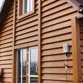 Монтаж фасада из металлического сайдинга