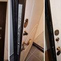 Установка дверного замка в металлическую дверь