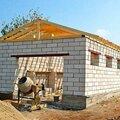Строительство стен и перекрытий для гаража