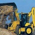 Погрузка и вывоз грунта