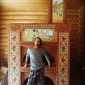 Роман Шибаев, Кладка встроенного камина в Городском поселении городе Городце