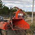 Аренда измельчителя веток, дробилка древесных отходов