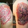 Обновление старых татуировок