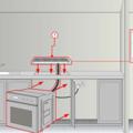 Установка и подключение кухонной плиты