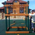 Монтаж детской площадки во двор и на дачу