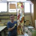 Виктор Александрович Зуев, Изготовление витражей в Городском округе Ликино-Дулёво