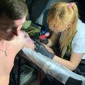 SOME MORE INK , Перекрытие старых татуировок в Арбате