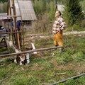 Фарид Умяров, Строительство русской бани в Ачинске