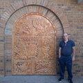 Алексей Шаев, Кладка встроенного камина в Пурех