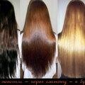 Удаление нежелательного оттенка с коротких/средних/длинных волос