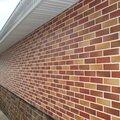 Монтаж фасада из клинкерной плитки