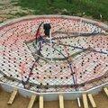 Установка монолитной плиты