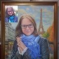 Картина по фото на заказ в багетной раме