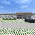 Эскиз общественных зданий и сооружений