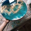 Рисование эпоксидной смолой в технике Resin Art