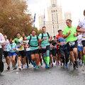 Занятие по марафонскому бегу