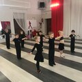Занятие по спортивным танцам: в группе, абонемент на месяц, 8 занятий