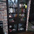 книжный шкаф из ясеня
