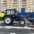 Коммунальная щетка Беларус МТЗ-82