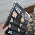 Поклейка деревянной мозаики на самоклеющейся основе.