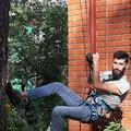 Somon Jalilov, Устройство рулонного газона в Кратово