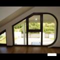 Заказать нестандартные окна для балкона