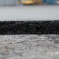 Устройство дорожного покрытия из крупнозернистого асфальтобетона