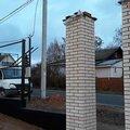Кирпичные столбы для заборов в Москве и Московской области
