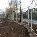 Строительство каркасов для заборов любого типа в Москве и Московской области
