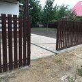 Откатные ворота с установкой