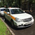 Автомобиль под такси: Nissan Almera
