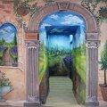 Художественная роспись стен, оформление интерьера, настенная роспись