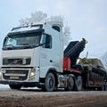 Услуги трала с манипулятором (кран 40 тонн на метр)