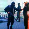 стриптиз розыгрыш людей в форме полиции