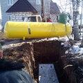 Прокладка трубы от резервуара до дома