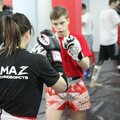 Занятие по тайскому боксу