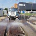Аренда подметально/уборочной/ дорожной машины на базе водовоза в Санкт-Петербурге и Ленинградской области