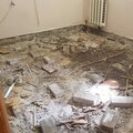 Демонтаж бетонной стяжки пола