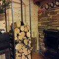 Стойка для дров дровница поленница