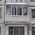 Внешняя отделка окон и балконов сайдингом из ПВХ