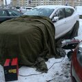 Отогрев легковых автомобилей