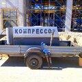 Компрессор с оператором и молотками аренда услуги Тюмень
