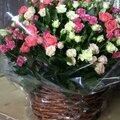 Доставка корзин с цветами