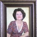 Портрет на холсте с фотографии