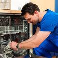 Ремонт не сливающей воду посудомоечной машины
