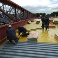 РуфМастер, Обеспыливание бетонного пола в Саткинском районе